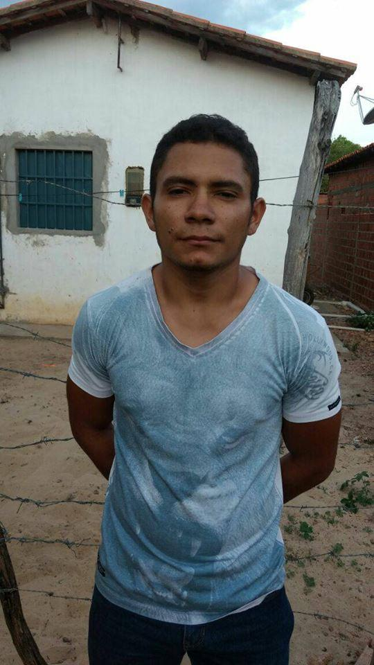 Homem preso em Teresina (Crédito: Reprodução)