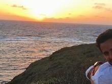 Marina Ruy Barbosa contempla nascer do sol ao lado do namorado