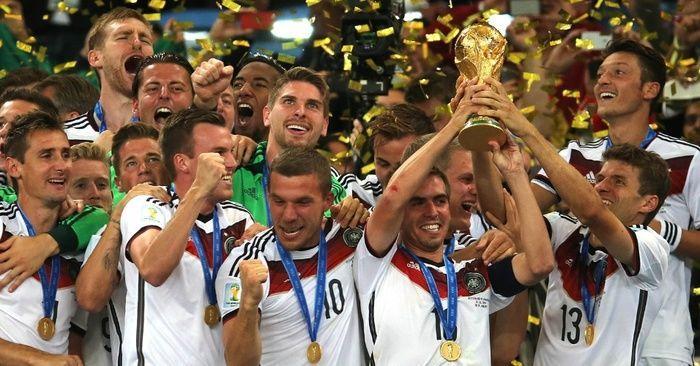 Os alemães são os atuais campeões do mundo (Crédito: Reprodução)