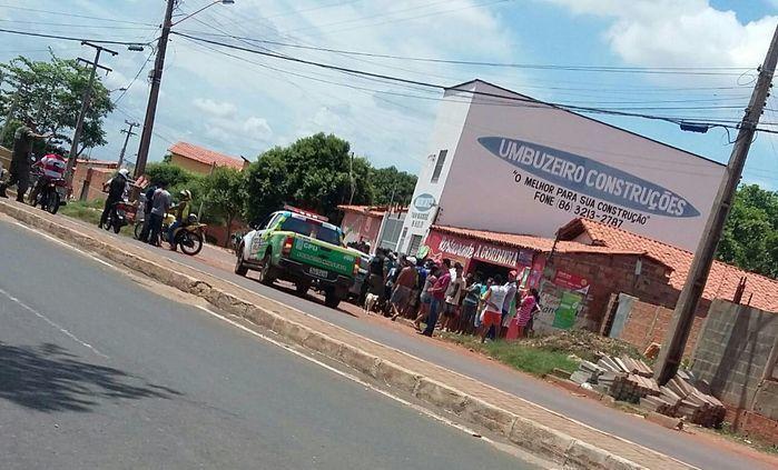 Local onde Antônio Carlos da Silva foi alvejado (Crédito: Divulgação)