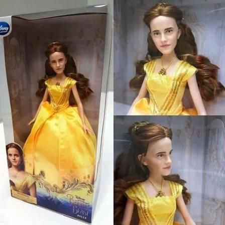 Ingrid Guimarães se diverte ao ser comparada à boneca