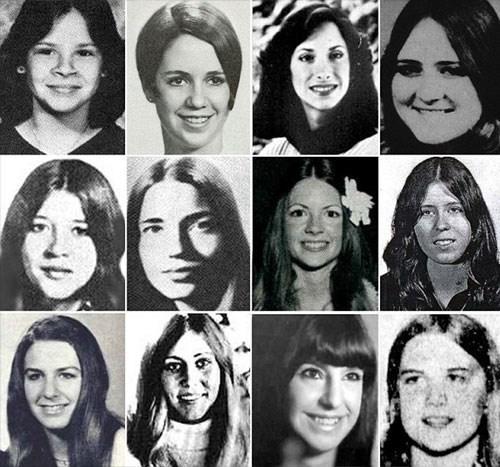 Algumas vítimas de Ted Bundy