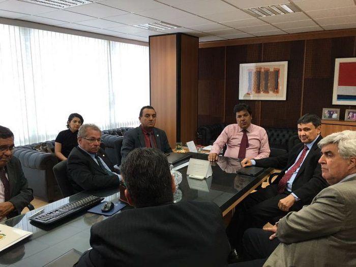 Reunião com o ministro da Educação (Crédito: Reprodução)