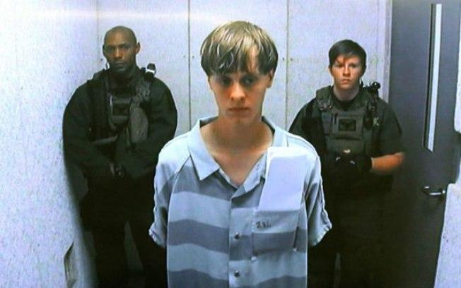 Dylann Roof,  de 22 anos, foi condenado à pena de morte