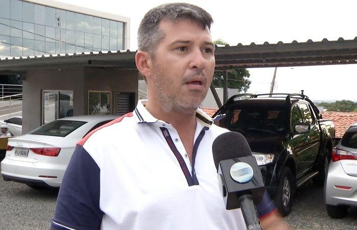 Policial se defende das acusações (Crédito: Reprodução/TV Meio Norte)