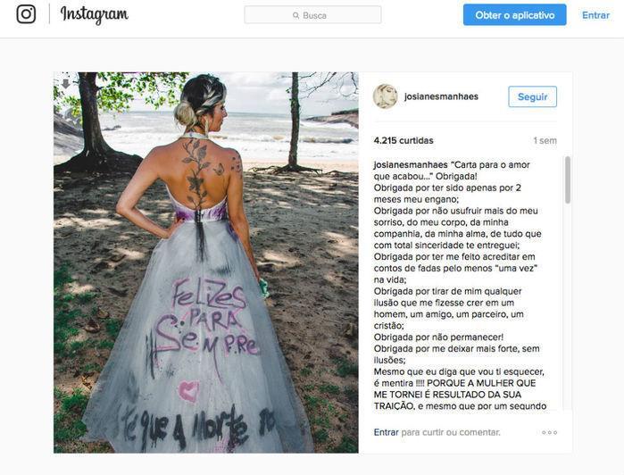 Após divórcio, mulher 'comemora' com fotos sensuais