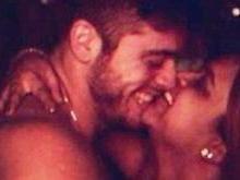 Preta Gil parabeniza marido e posta foto do casal aparentemente nu