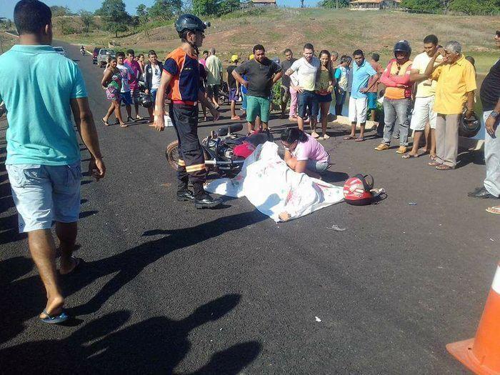 Pai de vereador morre em acidente na PI-112 em Barras (Crédito: Agrandebarras)