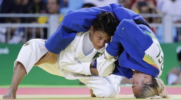 Sarah nos Jogos Rio 2016 (Crédito: Divulgação)