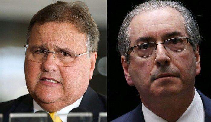 Geddel Vieira Lima e Eduardo Cunha