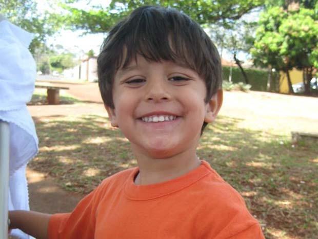 Joaquim, de 3 anos, foi encontrado morto no rio Pardo, em Barretos, SP