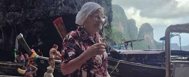Aos 89 anos, russa viaja pelo mundo e posta tudo no Instagram
