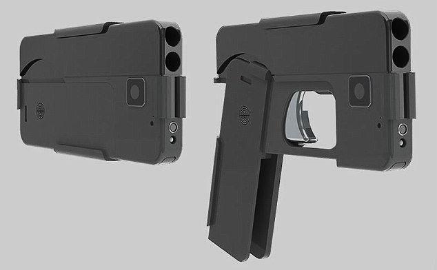 iPhone Gun (Crédito: Reprodução)