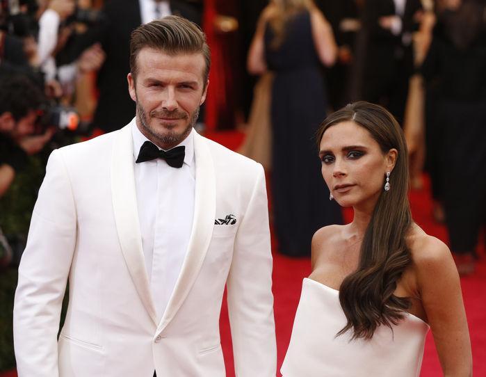 Victoria e o marido, o ex-jogador David Beckham  (Crédito: Reprodução)