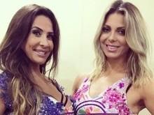 Sheila Mello e Scheila Carvalho exibem pernões em foto no Instagram