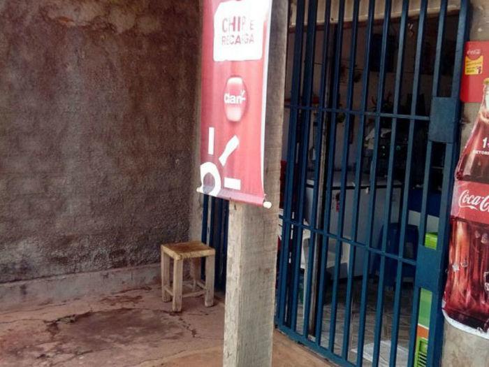 Comerciante desmaia ao ser espancada em assalto em José de Freitas (Crédito: F.Mendes)