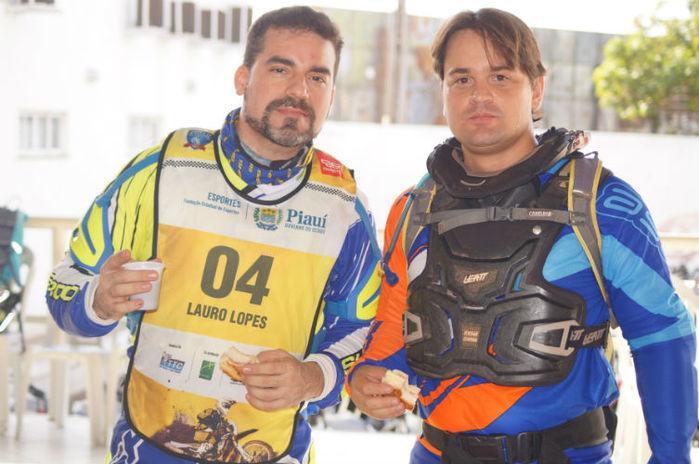 Pilotos Senior que serão premiados, Lauro Lopes - Vice e Luiz Lobão Filho - campeão