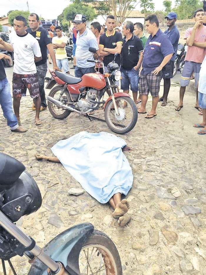 Homem foi morto em Beneditinos (Crédito: Reprodução)