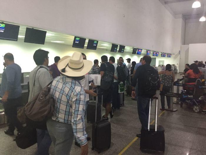Aeronaves foram desviadas para Aeroporto de São Luís (Crédito: Portal MN)