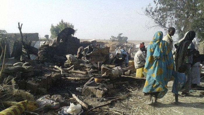 Força Aérea Nigeriana bombardeia campo de refugiados por engano