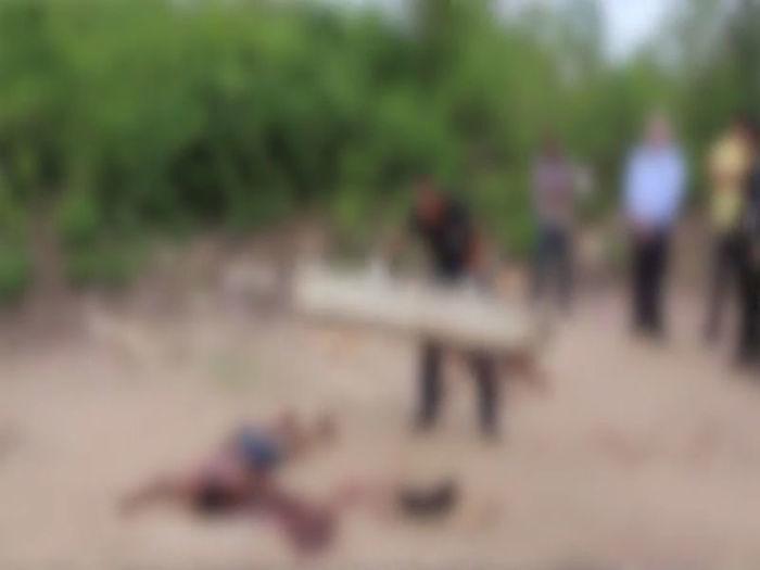 Casal de adolescentes é assassinado com mais de 40 facadas  (Crédito: Efrém Ribeiro)