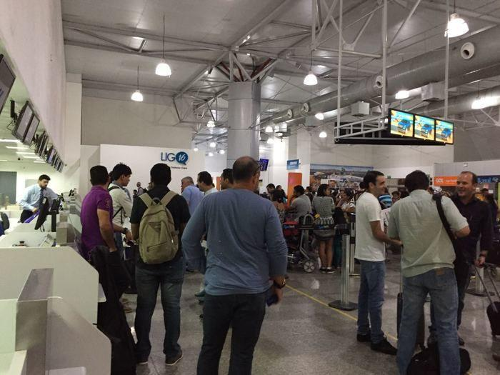 Aeronaves foram desviadas para Aeroporto de São Luís (Crédito: Reprodução)