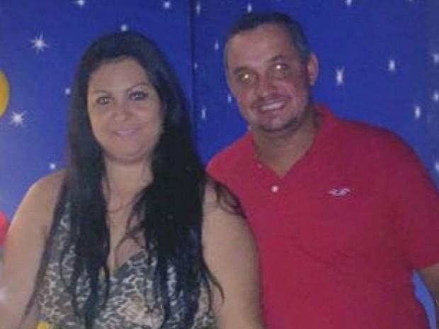 Tatiana Lozano Pereira, e o marido, Alex Pereira