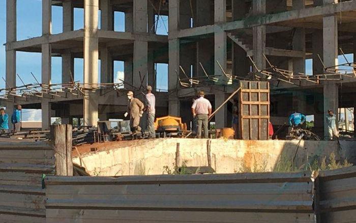 Piauiense morre ao cair de prédio em construção no Mato Grosso  (Crédito: Maracajuspee)