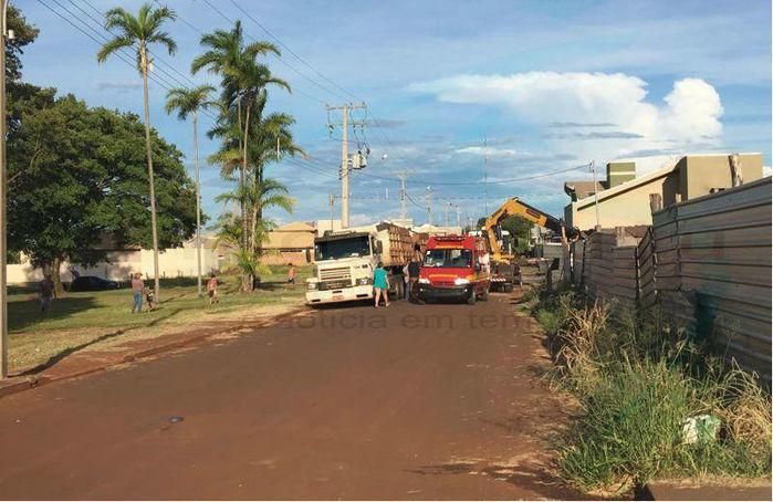Local próximo de onde o jovem morreu (Crédito: Maracajuspeed)