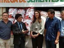 Programa de distribuição de sementes e mudas