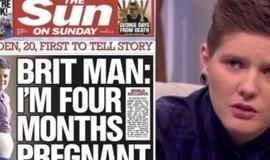 """""""Estou sendo ameaçado de morte"""", diz 1º homem grávido na Inglaterra"""
