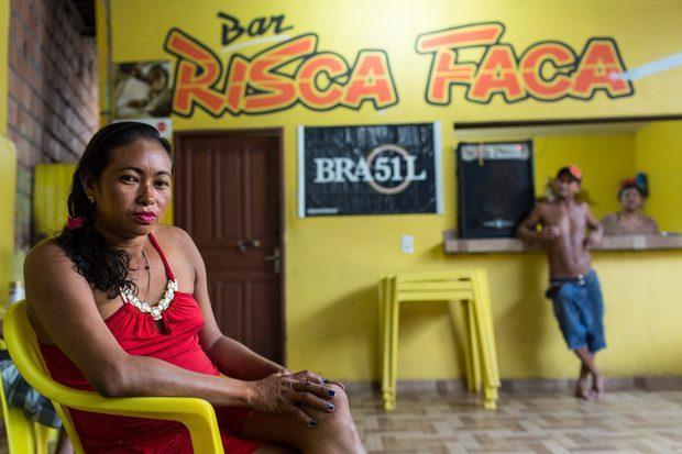 Francisca da Silva, a Coroca (Crédito: Folha Press)