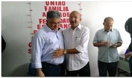 Transmissão de Cargo de Dr. Moura para Silva Júnior