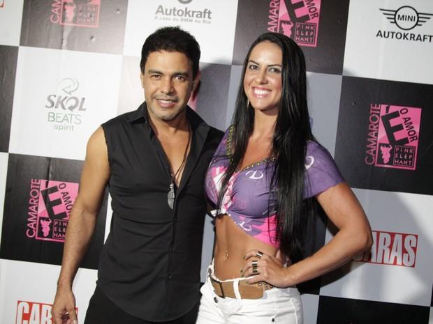 Zezé Di Camargo afirma que pagou detetive para investigar Graciele