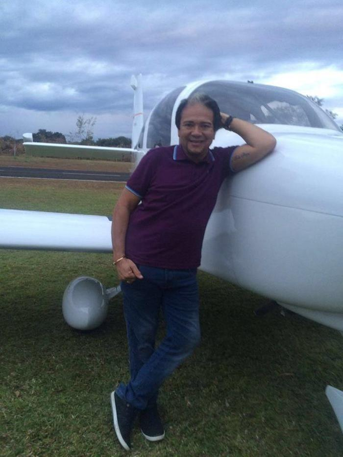 Mariano Marques foi conduzido para o hospital (Crédito: Reprodução/Facebook)