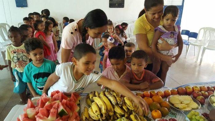 Teresina:19 milhões investidos na qualidade da alimentação escolar