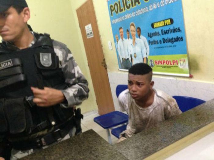 Acuado foi preso em flagrante