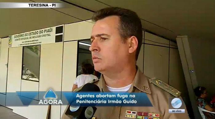 Tenente-coronel Luís Antônio Pitombeira (Crédito: Rede Meio Norte)