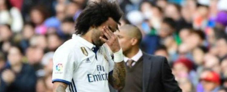 Marcelo deve parar quatro semanas por causa de lesão na perna