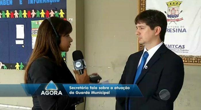 Samuel Silveira, secretário Municipal do Trabalho, Cidadania e Assistência Social (Crédito: Rede Meio Norte)