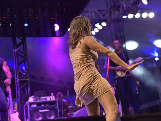 Anitta invade palco do Harmonia e  mostra demais (Crédito: Elias Dantas/Ag.Haack)