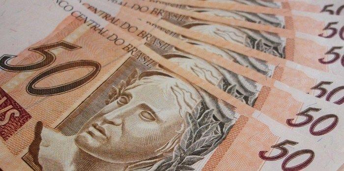 Cédulas de 50 reais (Crédito: Reprodução)