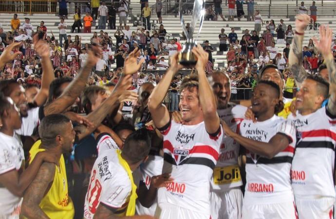 São Paulo foi o campeão do torneio  (Crédito: Reprodução)