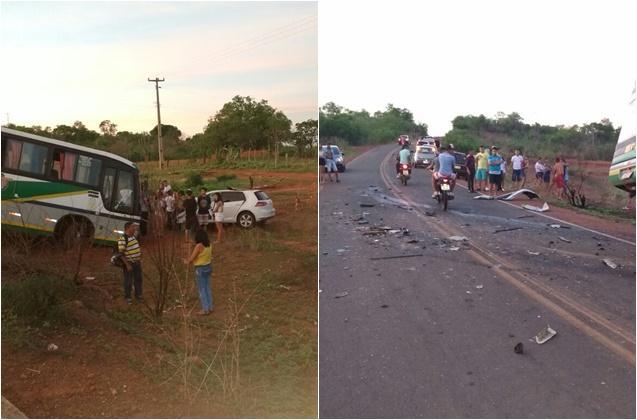 Acidente com prefeito de Santana do Piauí (Crédito: Reprodução)
