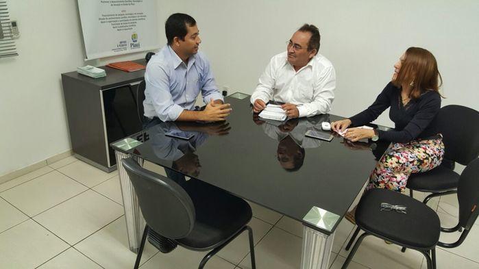 Reunião aconteceu na Fapepi (Crédito: Reprodução)