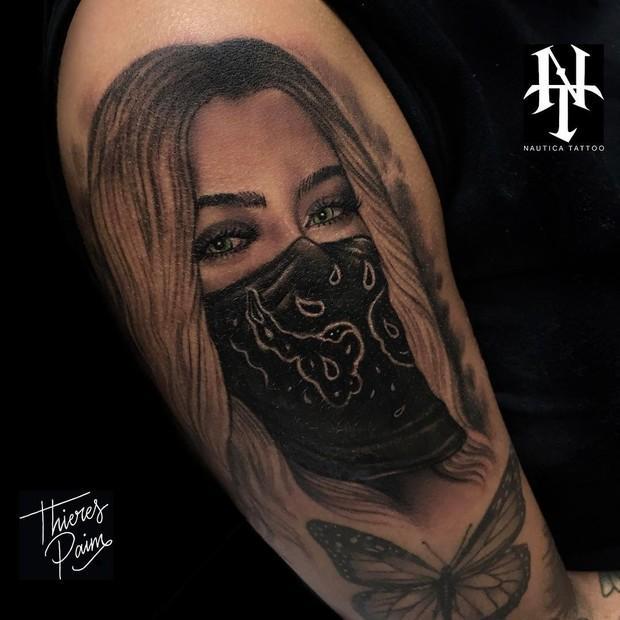 Tatuagem de Rafaella Santos