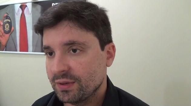 Delegado Cadena Júnior, coordenador da Divisão de Capturas (DICAP)