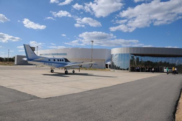 Aeroporto Internacioanal Serra da Capivara, em São Raimundo Nonato