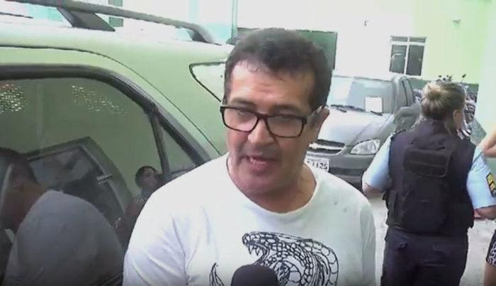 Beto Barbosa foi preso em Fortaleza