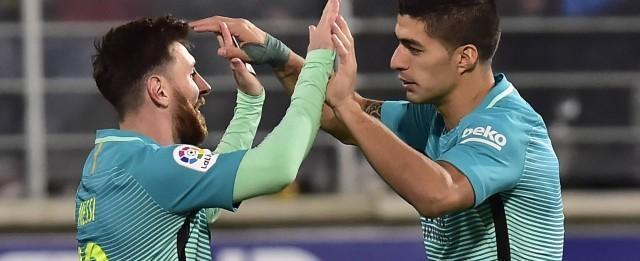 Barça deixa Neymar e festeja Messi e Suárez como melhor dupla